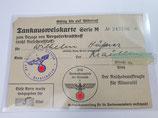 Tankausweis Serie M