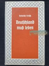 Buch - Deutschland muss leben