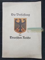 Buch - Die Verfassung des deutschen Reichs