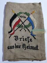 Patriotische Feldposttasche - Briefe aus der Heimat 1914