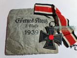 Eisernes Kreuz  2. Klasse - Souval mit Band und Tüte
