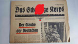 Zeitung - Das Schwarze Korps 47. Folge 9. Jahrgang
