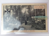Feldpostkarte - Aachen Stadtwald Heldengräber