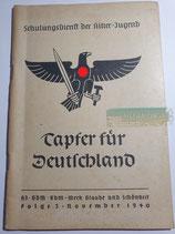 Heft - Schulungsdienst der HJ Folge 3 November 1940 (2)