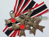 Kriegsverdienstkreuz ohne Schwerter 2. Klasse - Hst. 1 Deschler
