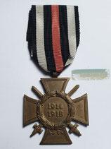 Ehrenkreuz für Frontkämpfer - L. NBG. mit Bandabschnitt (2)