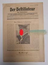 Zeitung - Der Destillateur 55. Jahrgang Nr. 22
