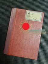 Mitgliedsbuch - Deutsche Arbeitsfront aus Flensburg