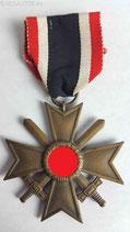 """Kriegsverdienstkreuz 2. Klasse """"56"""""""