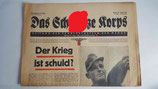 Zeitung - Das Schwarze Korps 17. Folge 10. Jahrgang