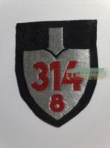 RAD Abteilung 8/314 - Bardenberg XXXI Oberrhein