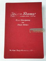 """Buch - """"Mein Kampf"""" 1. Band 2. Auflage 1926 / Foto Wilhelm Keppler"""