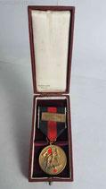 "Medaille - 1. Oktober 1938 im Etui ""Prager Burg"""