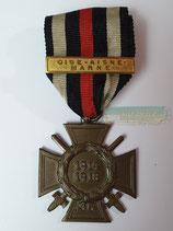 Ehrenkreuz für Frontkämpfer - G7 mit Gefechtsspange