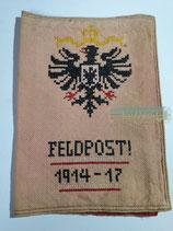 Patriotische Feldposttasche 1914-17