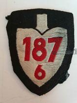 RAD Abteilung 6/187 - XVIII Niedersachsen-Ost