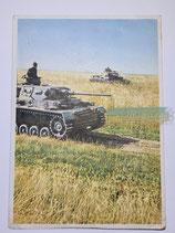 Feldpostkarte - Panzer machen Weltgeschichte
