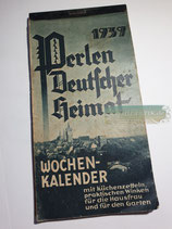 "Kalender - ""Perlen Deutscher Heimat"" 1939"