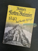 "Kalender - ""Köhler`s Flotten-Kalender"" 1940"
