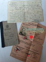 Dokumentengruppe - Zahnarzt Puppe aus Breslau