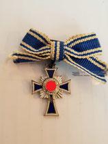 Mutterkreuz Silber Miniatur - Emailleschaden