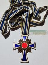 Mutterkreuz Bronze mit langen Band - kleiner Chip