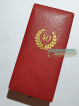 Treuedienst Ehrenzeichen - 40 Jahre im Etui Deschler (2)