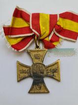 Baden - Kreuz für freiwillige Kriegshilfe 1914