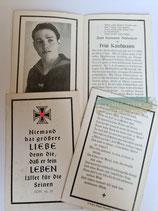 Sterbebild - Kriegsmarine