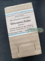 """Luftschutz - Chloramin Puder """"Heyden"""""""