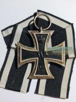 Eisernes Kreuz 2. Klasse 1914 - EO mit Bandabschnitt