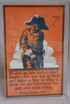 Feldpostkarte - Friedrich d. Große