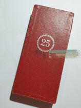 Treuedienst Ehrenzeichen 25 Jahre Einzelspange im Etui