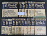 "Heft - 20x ""Ludendorffs Halbmonatsschrift"" Jahrgang 1938"