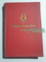 Kalender - Taschenkalender NSKOV 1942