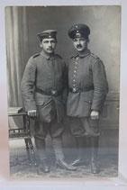 Portrait - Zwei Soldaten