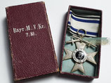 Bayern - Militärverdienstkreuz 2. Klasse im Etui