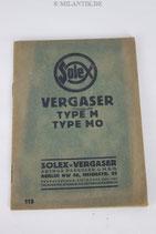 Handbuch - Solex Vergaser