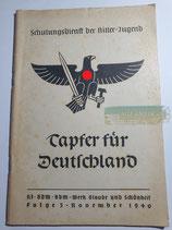 Heft - Schulungsdienst der HJ Folge 3 November 1940