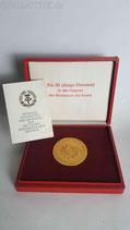 DDR - Medaille Volkspolizei Für den Schutz der Arbeiter und Bauernmacht im Etui