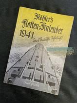 "Kalender - ""Köhler`s Flotten-Kalender"" 1941"