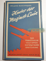 """Buch - """"Hinter der Maginot-Linie"""""""