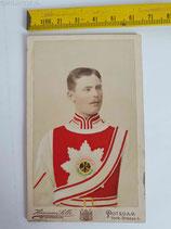 Portrait CDV - Garde du Corps mit Supraweste