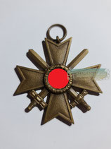 Kriegsverdienstkreuz mit Schwerter 2. Klasse - Buntmetall