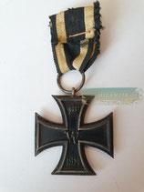 Eisernes Kreuz 2. Klasse 1914 - M19 mit Bandabschnitt