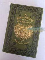 Buch - Die mitteleuropäischen Kriege in den Jahren 1864, 1866 u. 1870/71