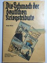 Heft - Die Schmach der deutschen Kriegstribute