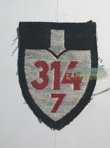 RAD Abteilung 7/314 - Bardenberg XXXI Oberrhein