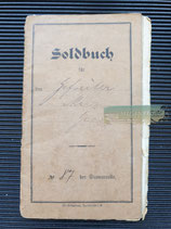 Soldbuch - Gefr. Merz