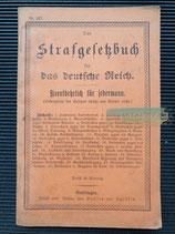 Buch - Das Strafgesetzbuch 1900